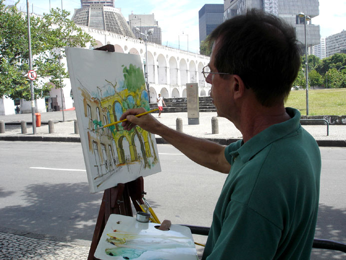 Our Plein-Air Painting Group