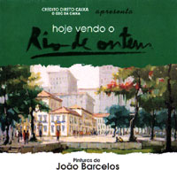 "Invitation of the exhibition ""Today we still see Rio in the past"""